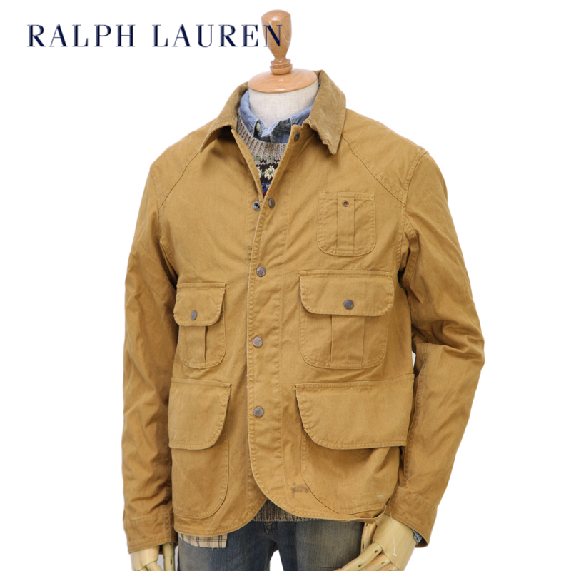 5216a5a3306558 abjnuts  POLO by Ralph Lauren Men s Vintage Hunting Jacket US polo ...