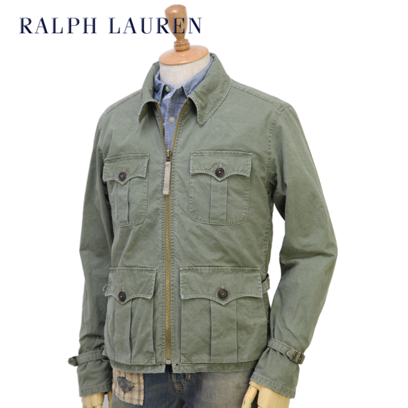 Abjnuts Ralph Lauren Men S Vintage Short Safari Jacket Us Polo
