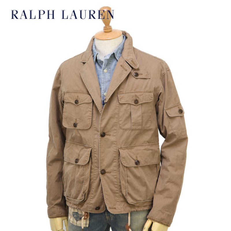 Ralph Lauren Men\u0027s M-65 Military Jacket