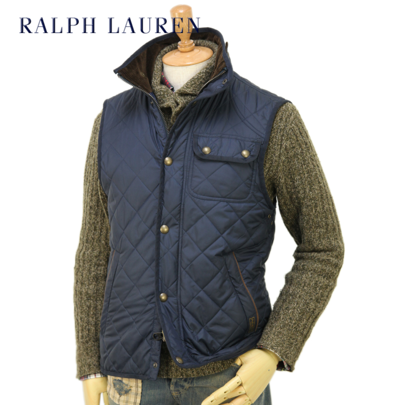 Abjnuts Polo By Ralph Lauren Mens Epson Quilted Vest Us Polo Ralph