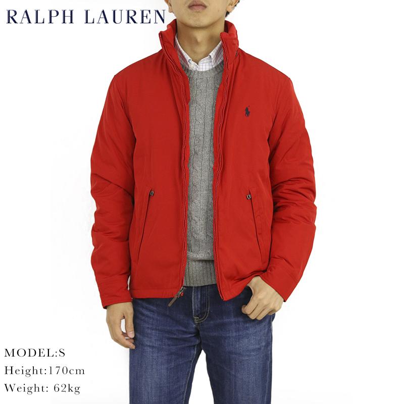c631080ebd1a Ralph Lauren Men u0027s Perry Windbreaker (RED) US polo Ralph Lauren fleece  liner