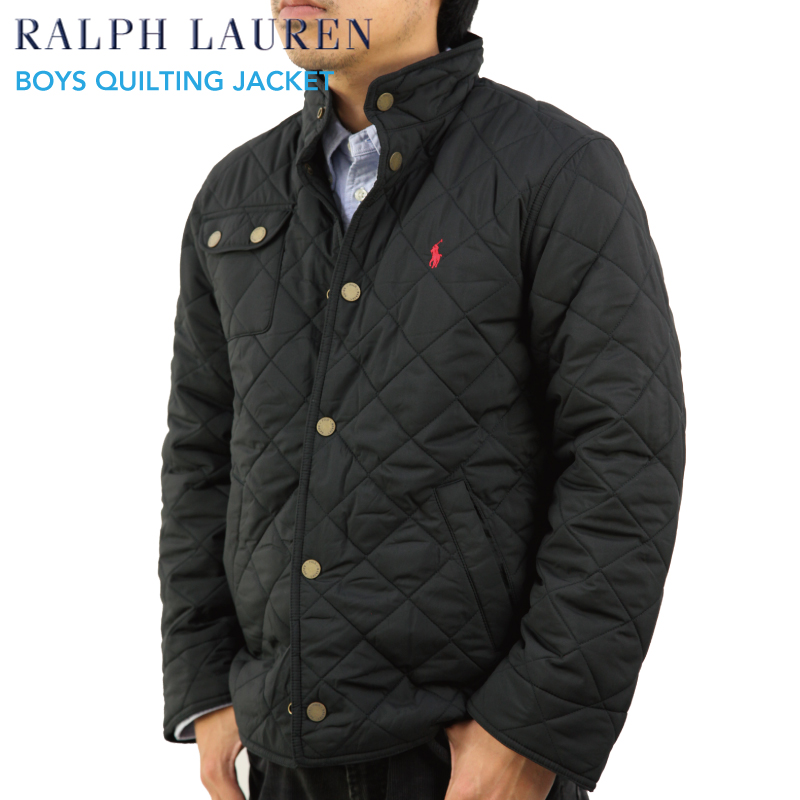 Size Ralph Boys Quilted Lauren Polo By Jacket Us USMVqzp