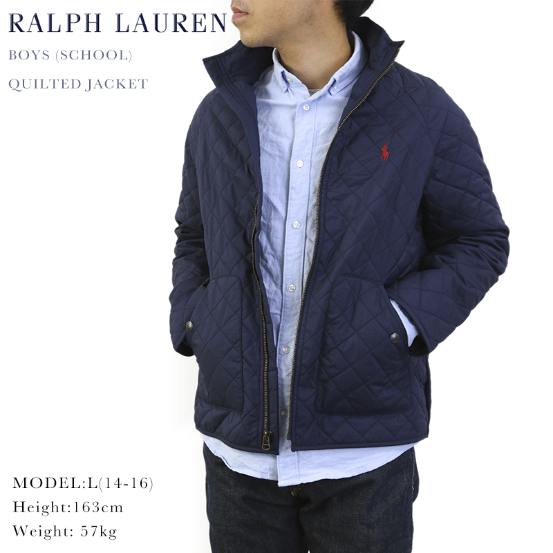 0240a5f19 Quilting jacket of the POLO by Ralph Lauren Boys Quilted Jacket US Ralph  Lauren Boys size ...