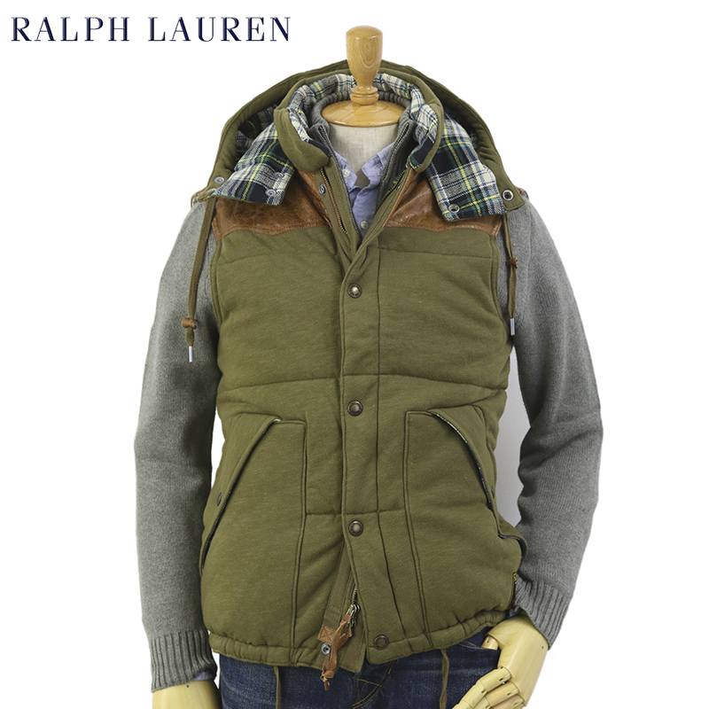 POLO by Ralph Lauren Men's Fleece Vest USポロ ラルフローレン スウェットベスト