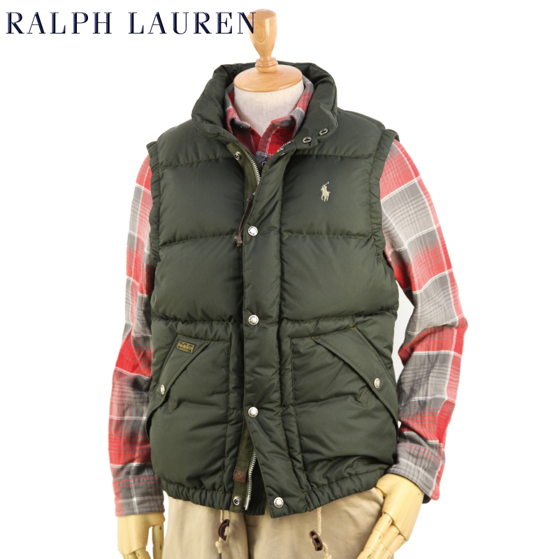 POLO by Ralph Lauren Men's Elmwood Down Vest USポロ ラルフローレン ダウンベスト