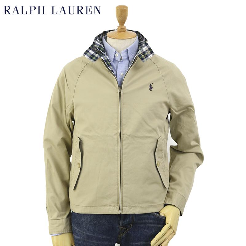 quality original available Ralph Lauren Men's Reversible Harrington Jacket US Polo Ralph Lauren  reversible Harrington jacket