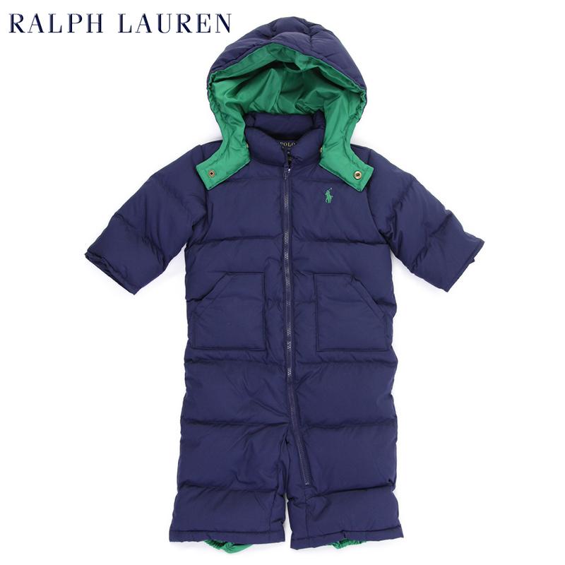 Ralph lauren hooded down jacket infant