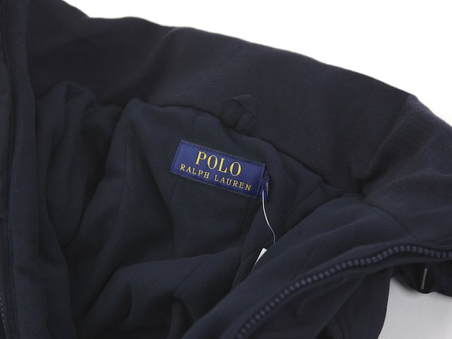 Ralph Lauren Men's Perry Windbreaker (NAVY) US Polo Ralph Lauren fleece liner windbreaker jacket
