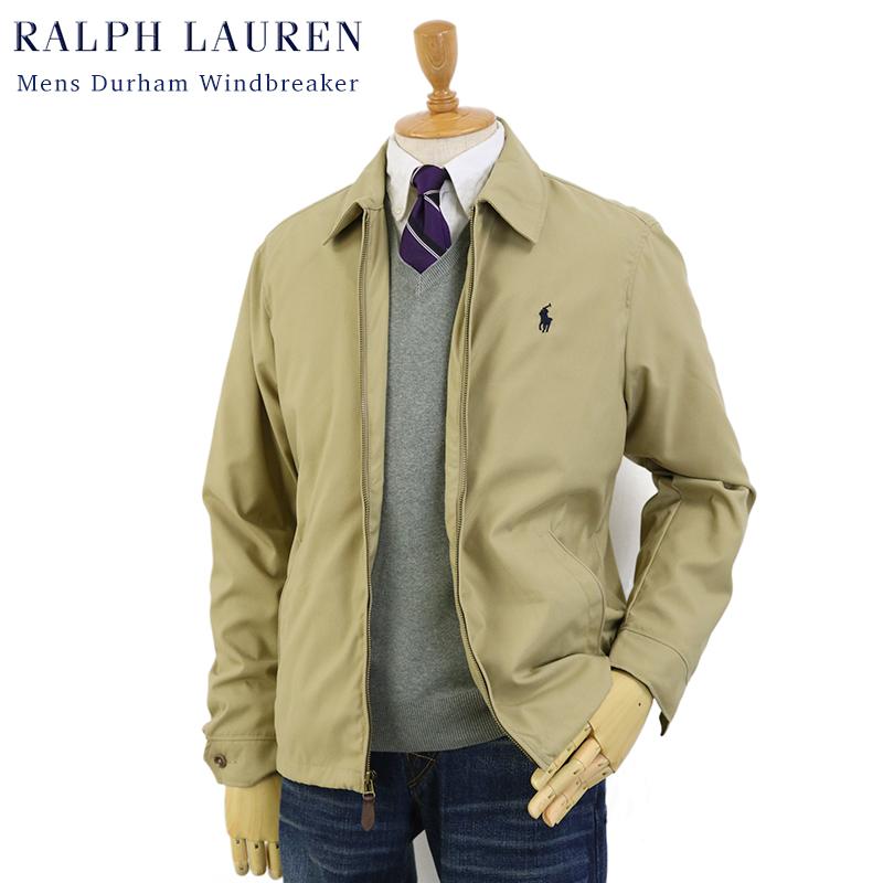 Ralph Lauren Men's Durham Windbreaker (TAN) US ポロ ラルフローレン スウィングトップ ウインドブレーカー ジャケット