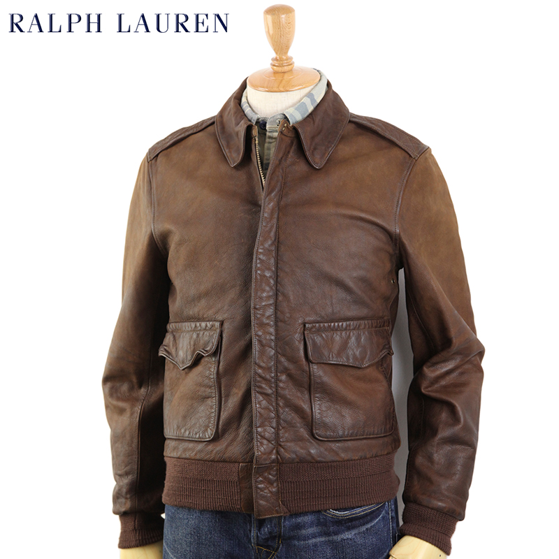 ed4fd9b77f abjnuts  POLO by Ralph Lauren  quot Type-2 quot  Leather Flight ...