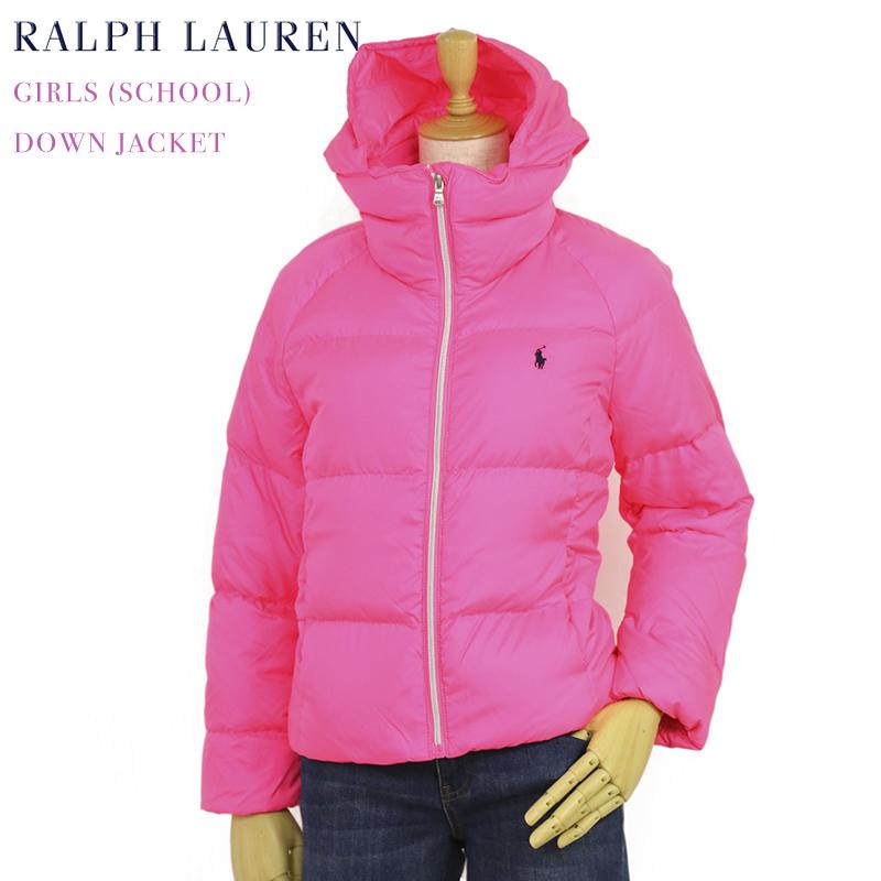 ポロ ラルフローレン ガールズ用 ダウンジャケット POLO by Ralph Lauren Girls Down Jacket US