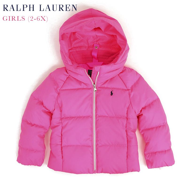 (2-6X) ポロ ラルフローレン ガールズ用 ダウンジャケット POLO by Ralph Lauren Toddler GIRLS (2-6X) Down Parka Jacket