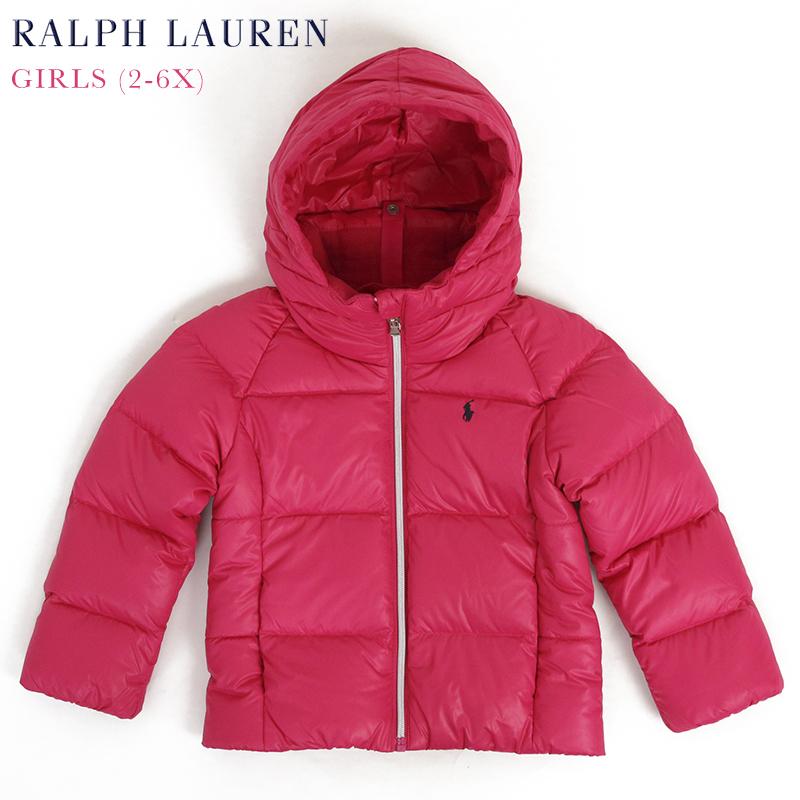 (2-6X) ポロ ラルフローレン ガールズ用 ダウンジャケット パーカ POLO by Ralph Lauren Toddler GIRLS (2-6X) Down Parka Jacket