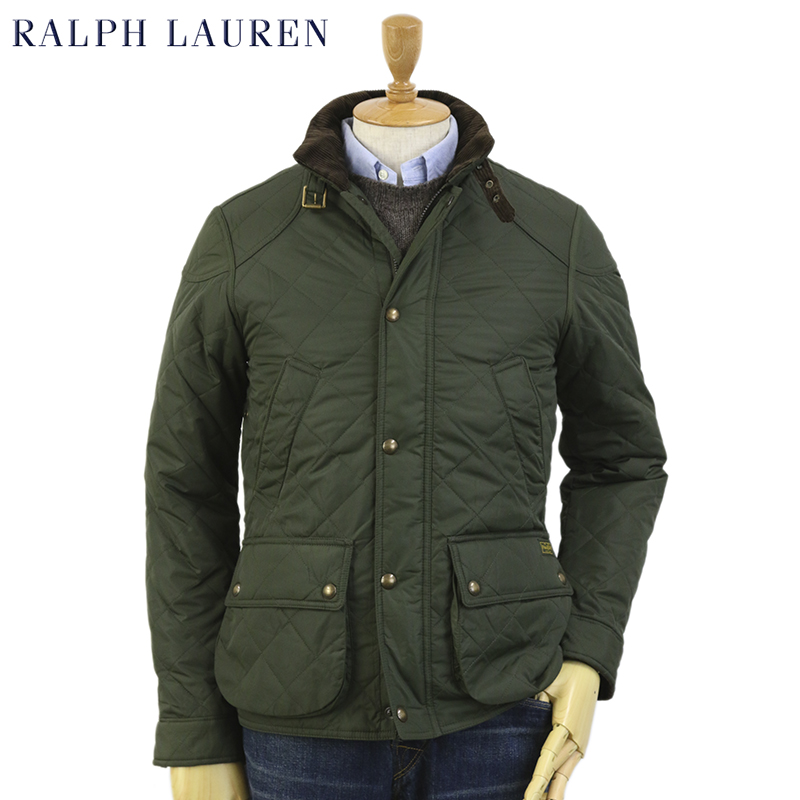 Abjnuts Ralph Lauren Mens Cadwell Quilted Bomber Jacket Us Ralph