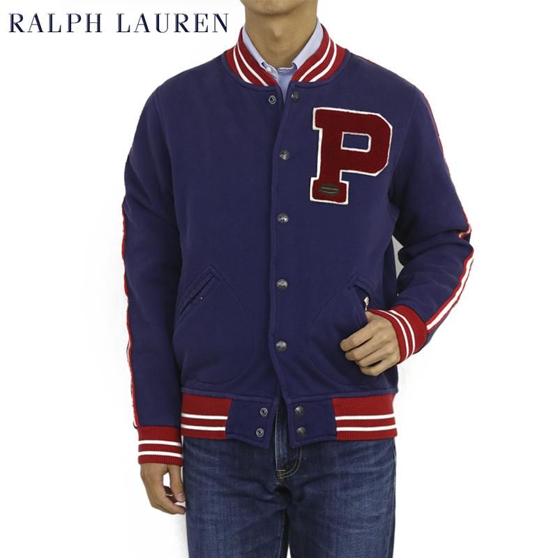 Ralph Lauren Men's Fleece Varsity Jacket USラルフローレン スウェット スタジアムジャンパー スタジャン アワードジャケット