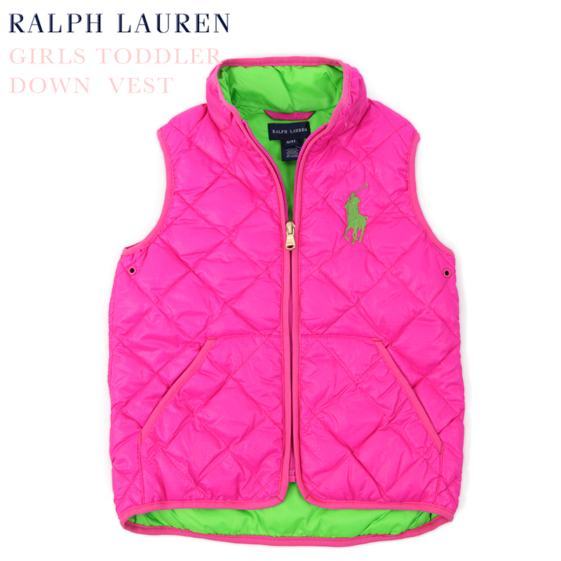 9a69a977f abjnuts: (X 2-6) POLO by Ralph Lauren GIRLS (X 2-6) Down Vest US ...