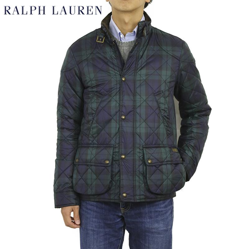 Ralph Lauren Men's Blackwatch Quilted Jacket USラルフローレン メンズ ブラックウォッチ タータンチェック キルティング ジャケット