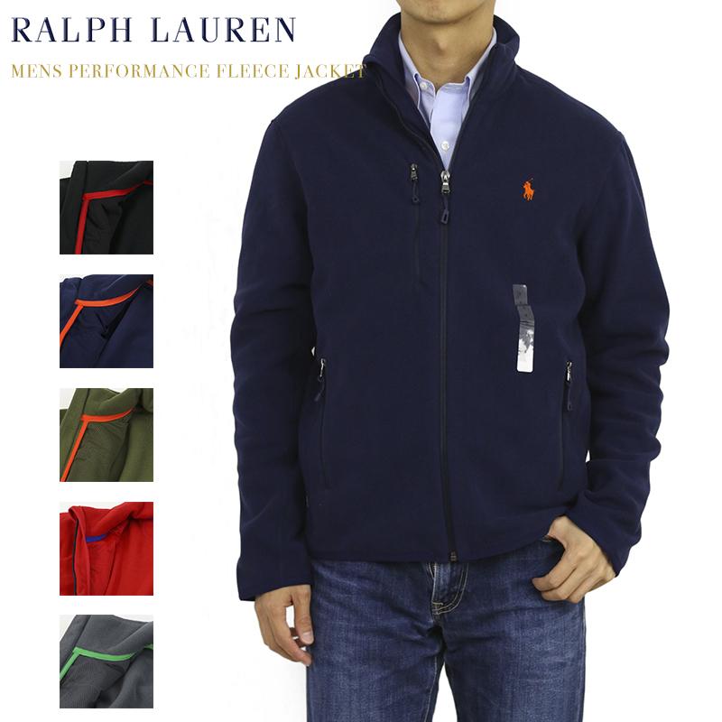 Ralph Lauren Men's Performance Fleece Jacket USラルフローレン フリース ジップアップ ジャケット
