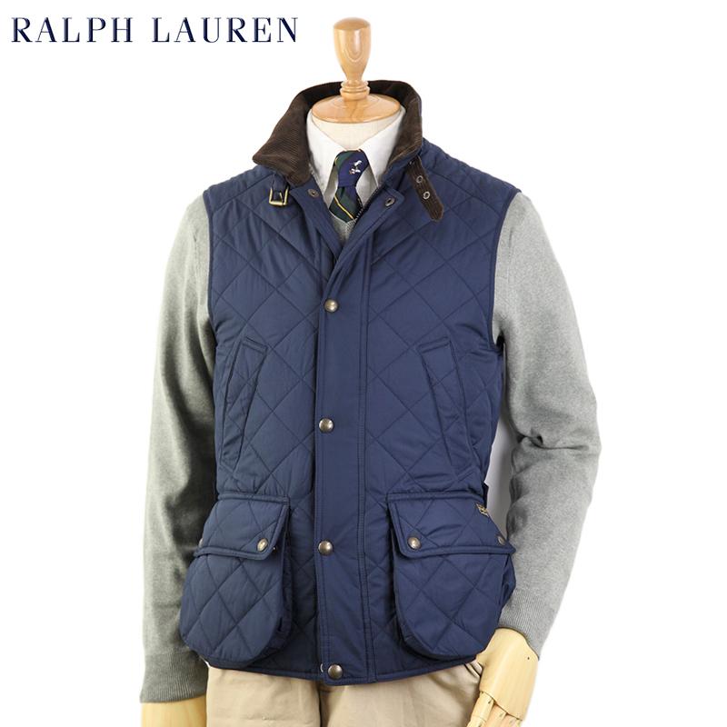 Ralph Lauren Men's Diamond Quilted Vest USラルフローレン メンズ キルティング ベスト