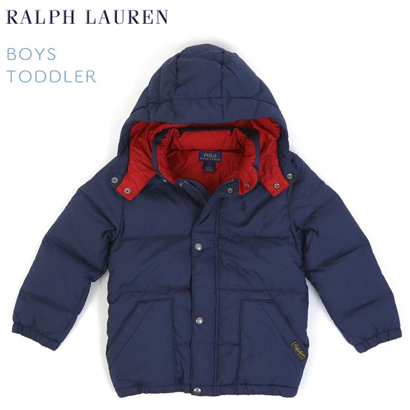 (TODDLER) BOYS(2-7) POLO by Ralph Lauren Down Jacket USラルフローレン 子供用のダウンジャケット