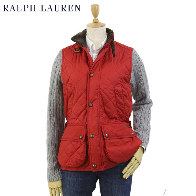 (WOMEN) Ralph Lauren Women's Quilted Vest 女性用 ラルフローレン キルティングベスト