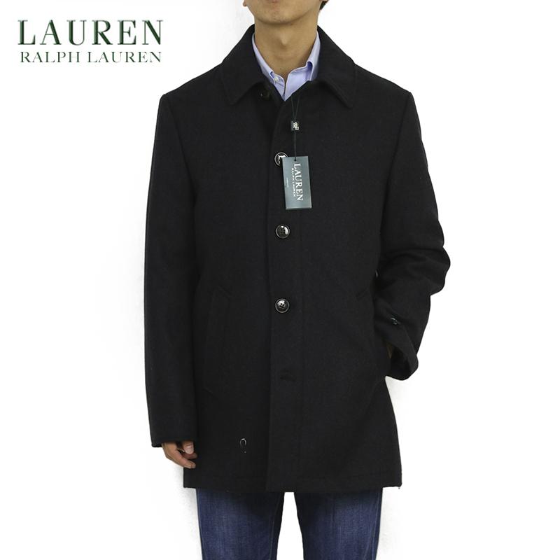 LAUREN by Ralph Lauren Men's Melton Overcoat US ポロ ラルフローレン メルトン カーコート オーバーコート