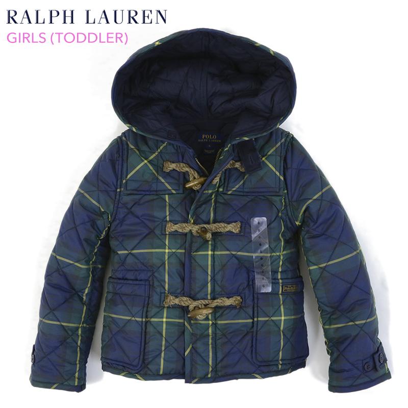 Toddler Polo By Ralph Lauren Girl 2 6x Quilting Duffel Coat For Quilted Duffle Coat Us Ralph Lauren Child