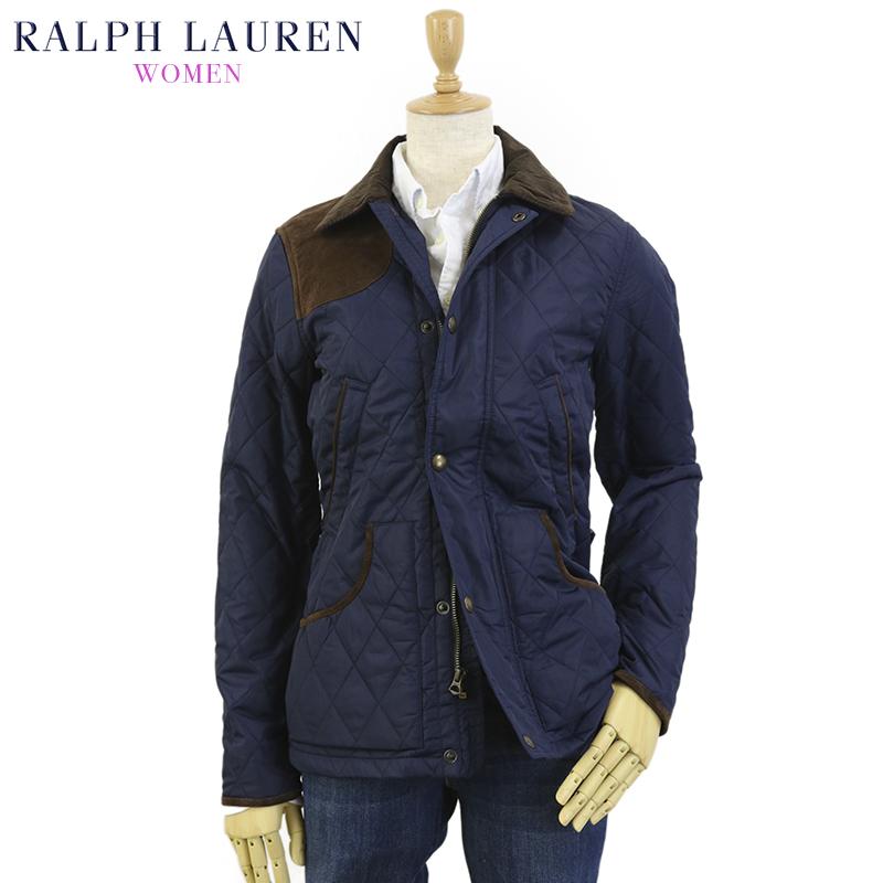 (WOMEN) Ralph Lauren Women's Quilted Jacket 女性用 ラルフローレン キルティングジャケット