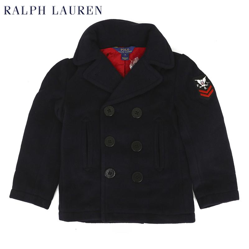 ポロ ラルフローレン 子供用のミリタリー Pコート Pコート(TODDLER) BOYS(2-7) POLO by Ralph Lauren P-Coat