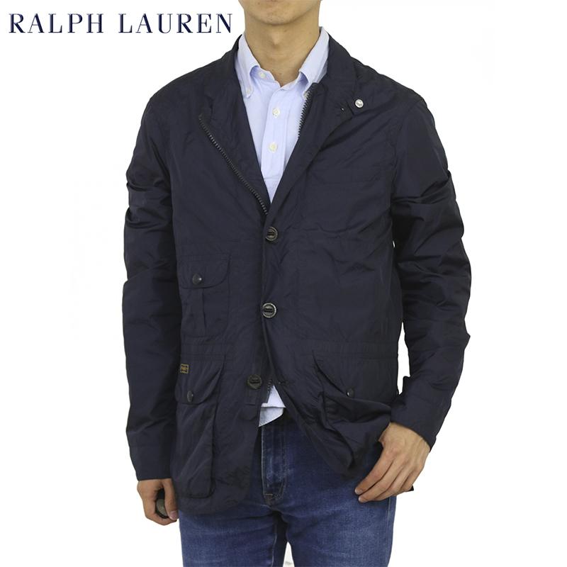 ポロ ラルフローレン ナイロン スポーツ ジャケット 3ボタンジャケット ジダプルジップ ブレザー POLO by Ralph Lauren Men's Nylon Sport Coat
