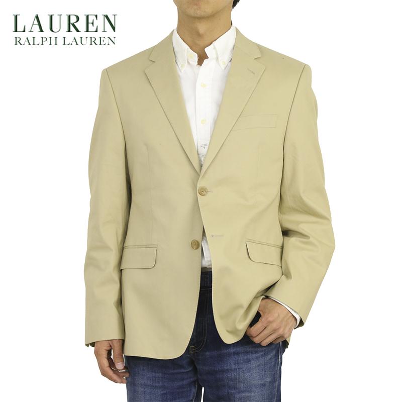 LAUREN by Ralph Lauren Men's Cotton Chino Stretch Jacket US ローレン ラルフローレン コットン ストレッチ チノ ジャケット スポーツコート