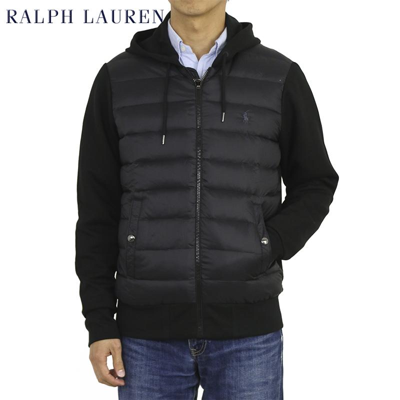 ポロ ラルフローレン ダウンベスト ジャージー パーカー POLO Ralph Lauren Men's Performance Down Face Jersey Hoodie US