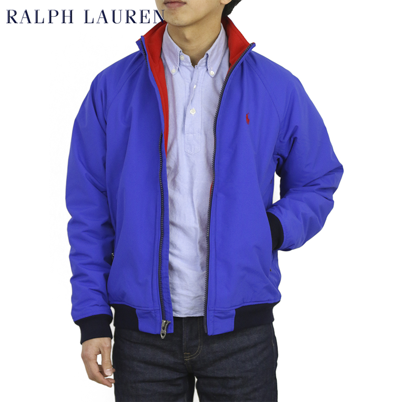 ポロ ラルフローレン フリースライニング ウィンドブレーカー ジャケット POLO Ralph Lauren Men's Fleece Lined Jacket US