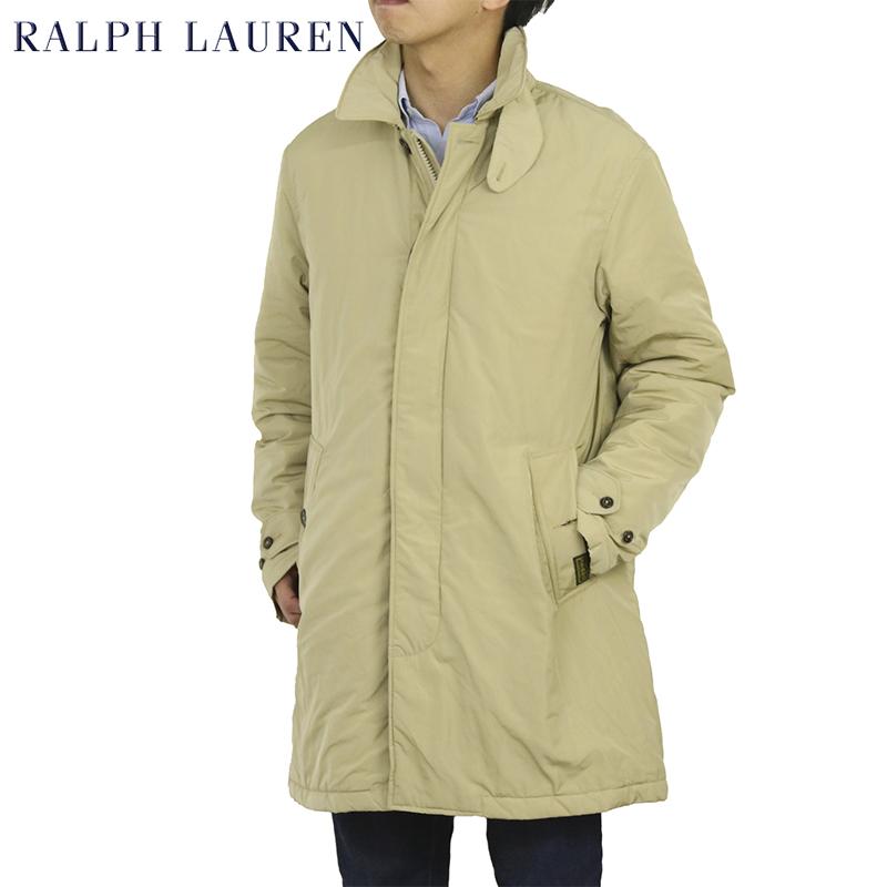 ポロ ラルフローレン キルティングライニング シングル カーコート POLO by Ralph Lauren Men's Quiltlined Car Coat (UPS)