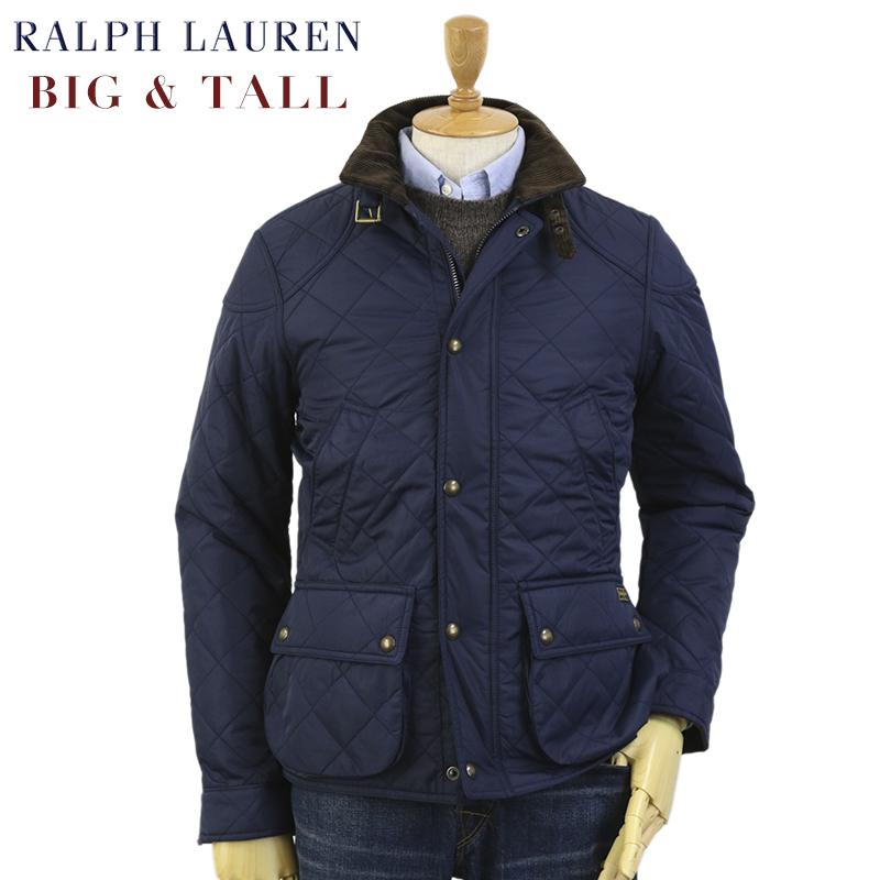 [BIG & TALL] Ralph Lauren Men's Cadwell Quilted Bomber Jacket USラルフローレン メンズ キルティングジャケット ビッグサイズ