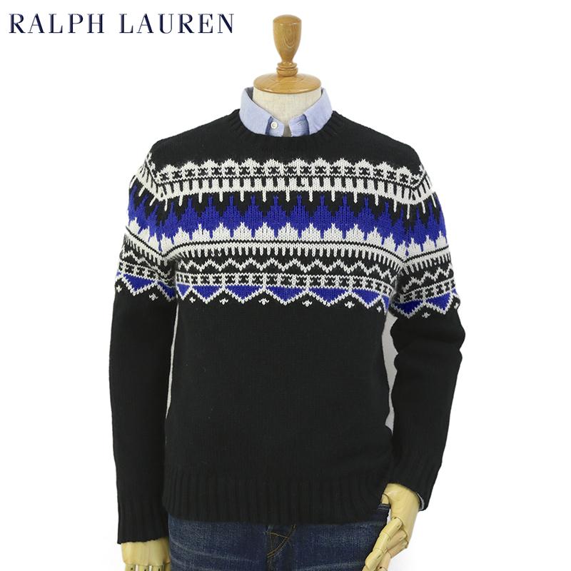 60cb4c1dcb2295 Ralph Lauren Men's Nordic Sweater US ポロ ラルフローレン ノルディック柄 セーター