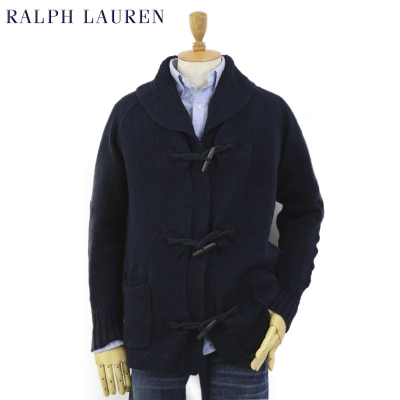 Ralph Lauren Men's Toggle Shawl Collar Cardigan US ポロ ラルフローレン ショールカラー カーディガン