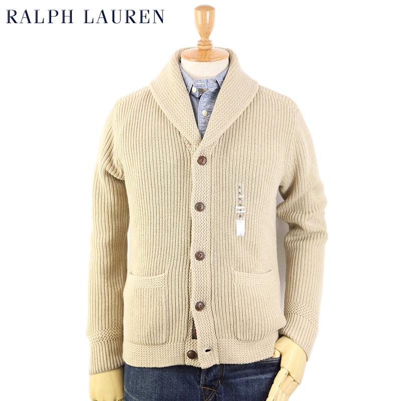 Ralph Lauren Men\u0027s Shawl Collar Cardigan US Polo Ralph Lauren shawl collar cardigan  sweater