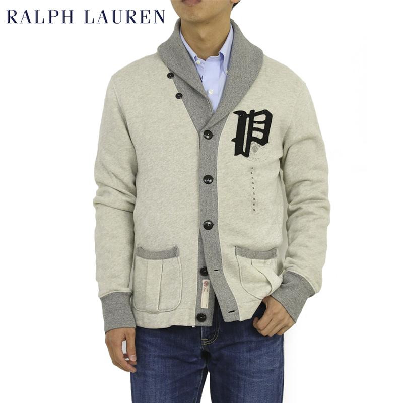 Ralph Lauren Men's Fleece Shawl Collar Cardigan US ポロ ラルフローレン スウェット ショールカラー カーディガン セーター