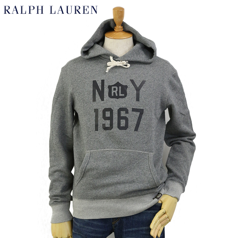 Ralph Lauren Men's NY1967 Fleece PO Parka US ポロ ラルフローレン 霜降り スウェット パーカー プルオーバー