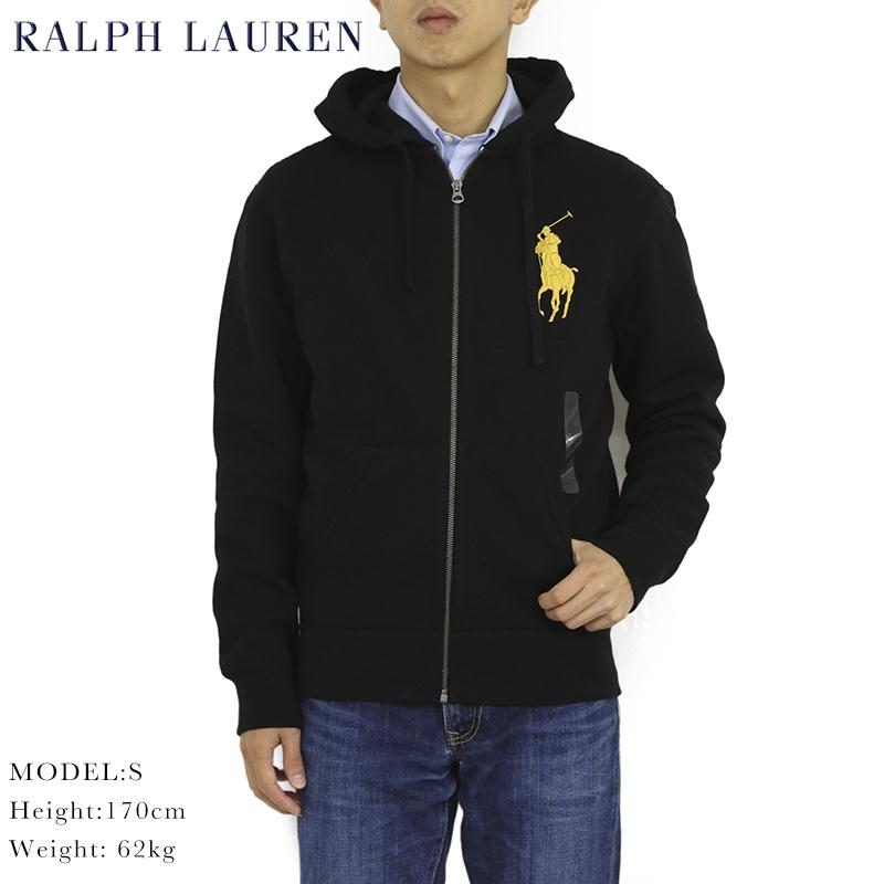 ポロ ラルフローレン ジップアップスウェットパーカー ビッグポニー フーディー POLO Ralph Lauren Men's