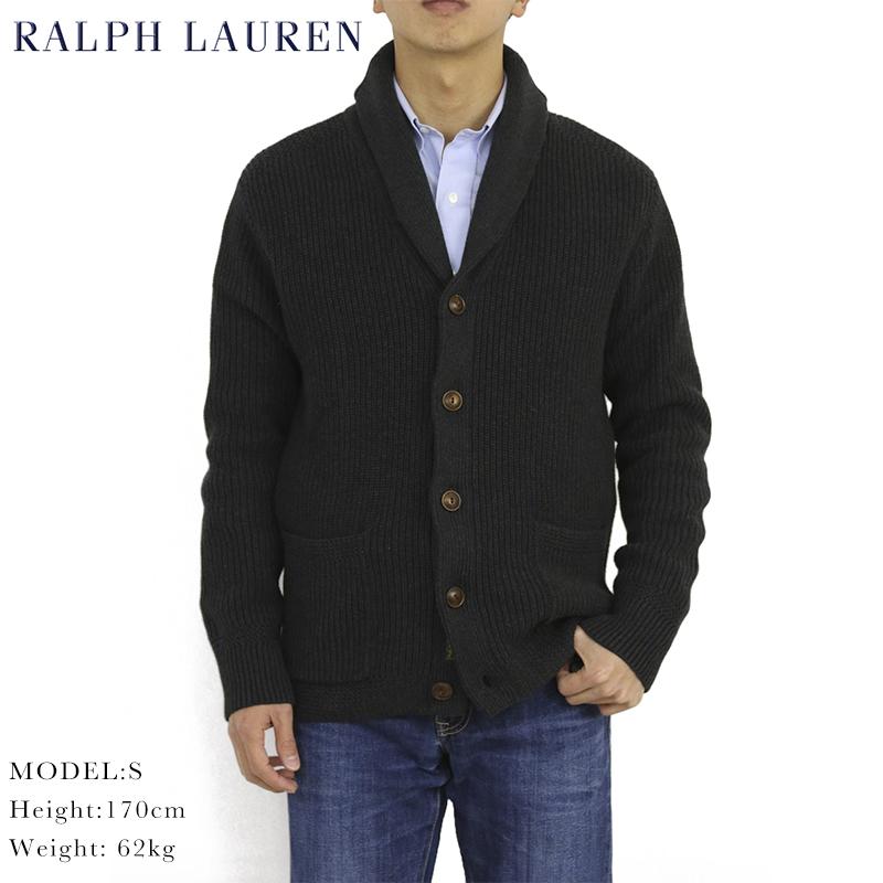 ポロ ラルフローレン ショールカラー カーディガン POLO Ralph Lauren Men's Shawl Collar Cardigan US