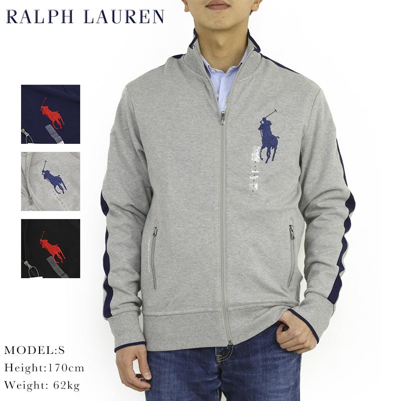 ポロ ラルフローレン ビッグポニージャージ トラックジャケット Polo Ralph Lauren Men's