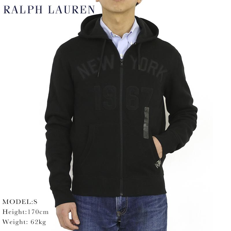ポロ ラルフローレン フリースライニング ジップアップ スウェットパーカー フーディー POLO Ralph Lauren Men's