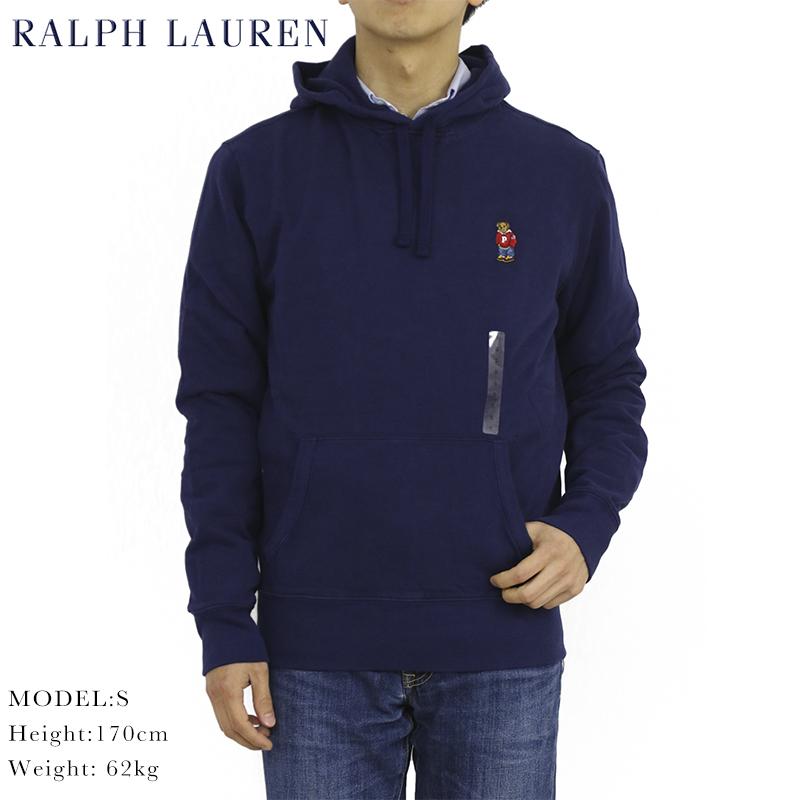 ポロ ラルフローレン ポロベア刺繍 プルオーバー スウェット パーカー POLO Ralph Lauren Men's POLO BEAR Pullover Parka US