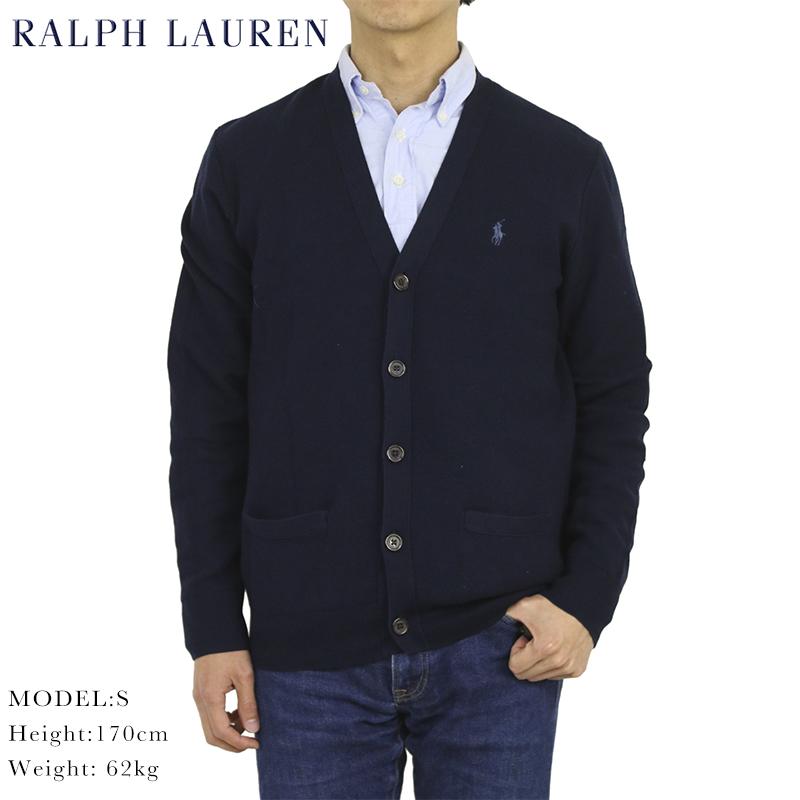 ポロ ラルフローレン メンズ ピーマ綿 カーディガン Polo Ralph Lauren Men's