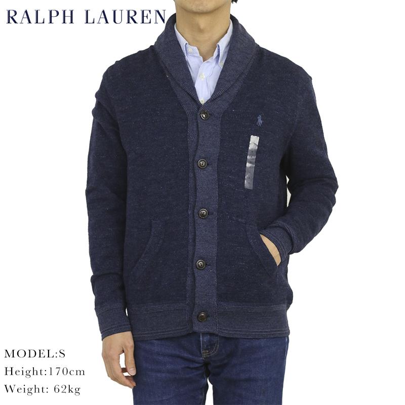 ポロ ラルフローレン ショールカラー カーディガン POLO Ralph Lauren Men's Cotton Shawl Collar Cardigan US