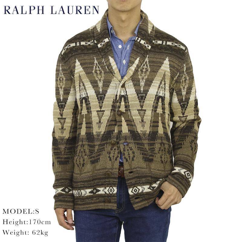 ポロ ラルフローレン ネイティブ ショールカラー カーディガン POLO Ralph Lauren Men's Native Shawl Collar Cardigan US