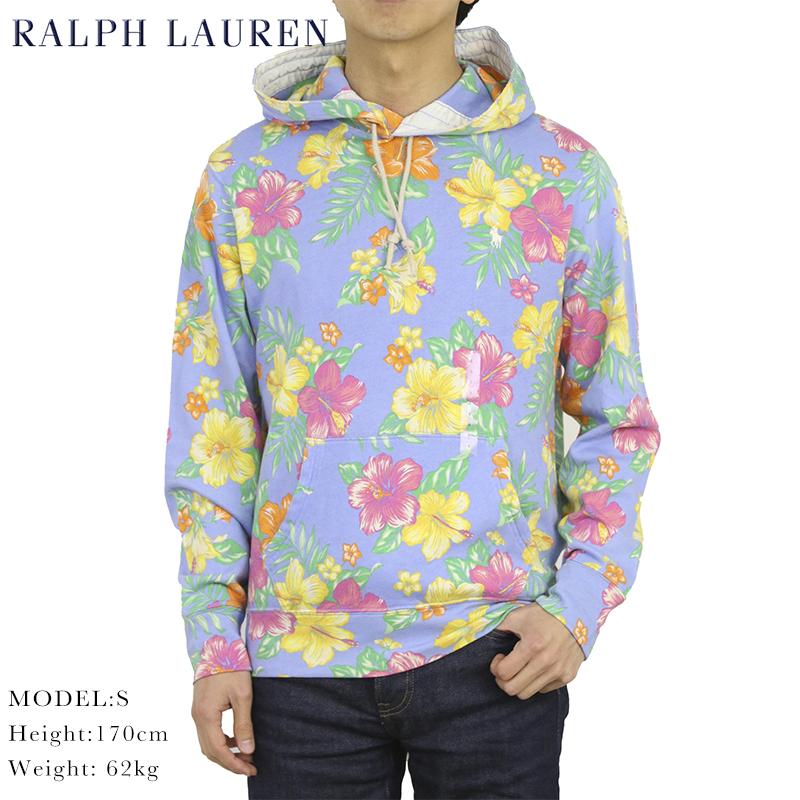 ポロ ラルフローレン ライトオンス アロハプリント スウェット パーカー POLO Ralph Lauren Men's PO Parka US