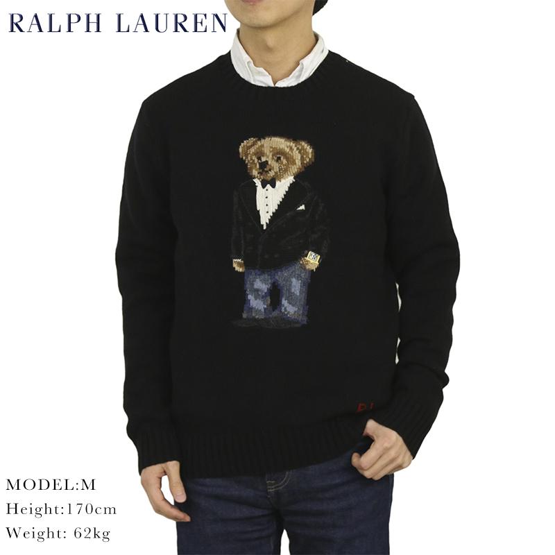 ポロ ラルフローレン ポロベアー クルーネックセーター 867ウォッチ ベア POLO Ralph Lauren Men's